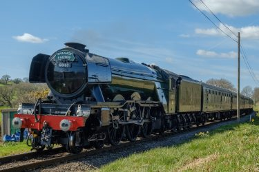Flying Scotsman in Swanage